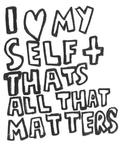 Self Centered People | self-centered1.jpg
