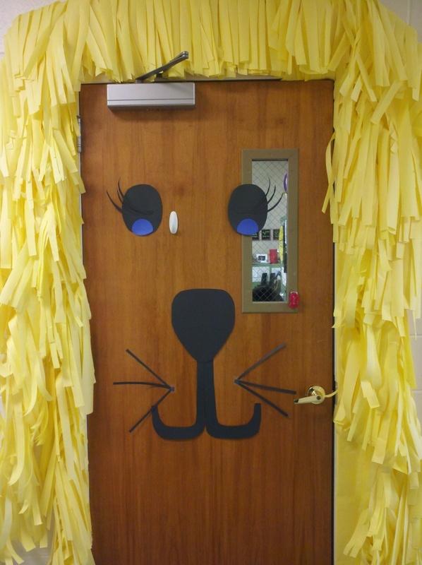 The door of my classroom at Faith Christian School