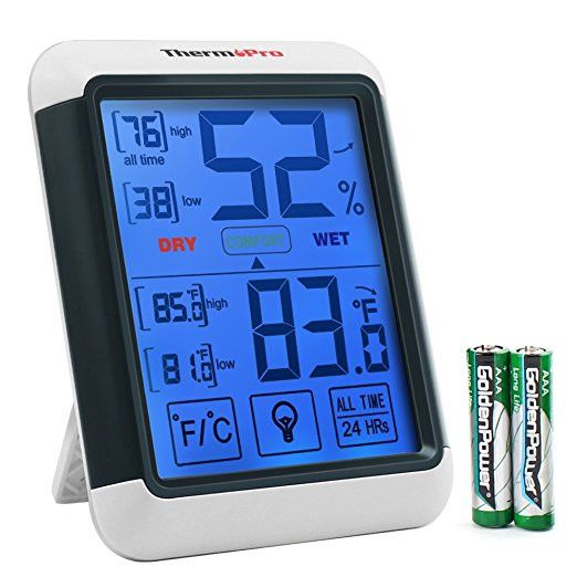 ThermoPro TP-55 Temperature and Humidity Monitor