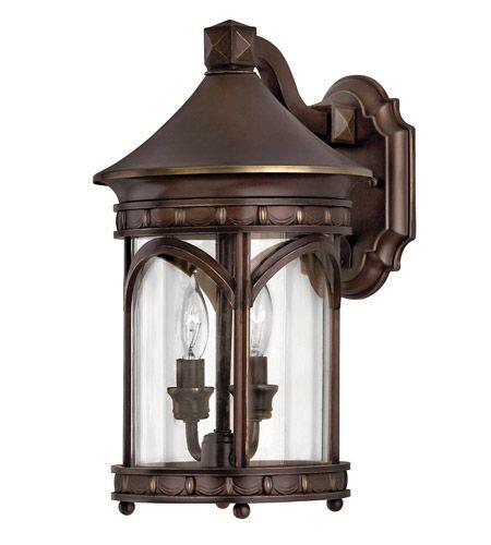 Hinkley 2310CB-LED Lucerne 1 Light 15 inch Copper Bronze Outdoor Wall in LED, Clear Glass #LightingNewYork