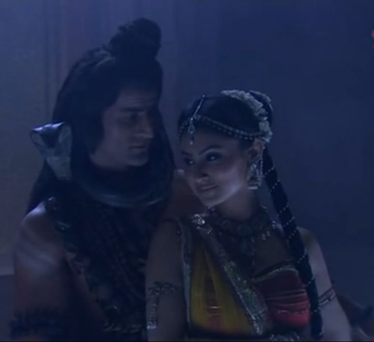 Shiva and Sati dancing..