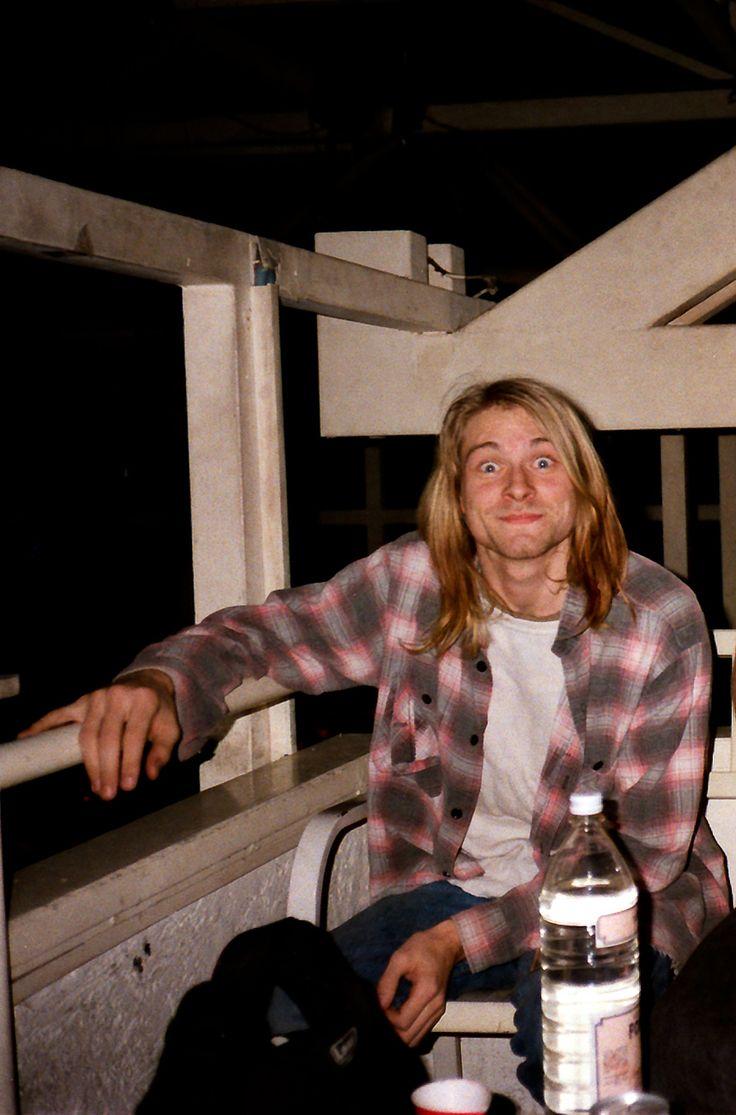 Kurt Cobain #Nirvana - November 1989