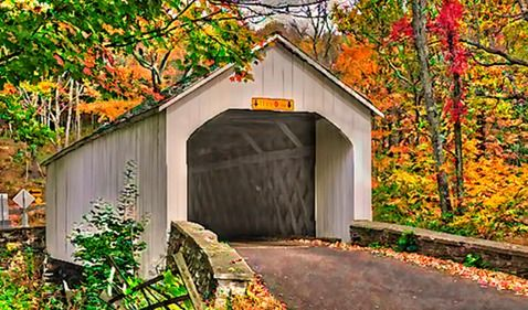 Loux Bridge  Bucks County, PA