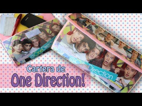 DIY: Cartera de ONE DIRECTION +Fácil y rápido