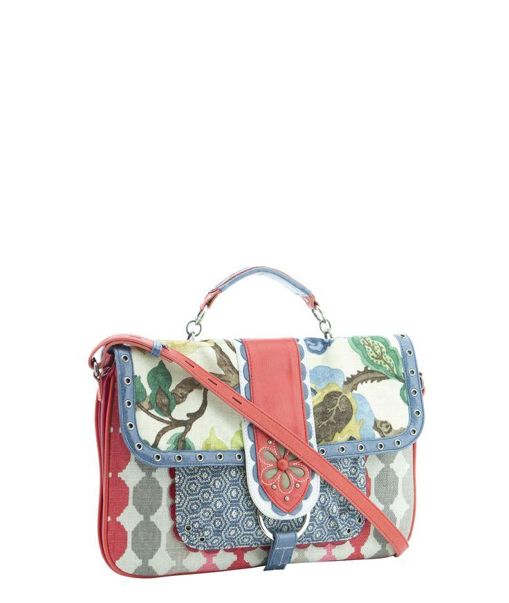 Spencer and Rutherford - Handbags - Cross Body Bags - Messenger Satchel - Matisse - Laugh