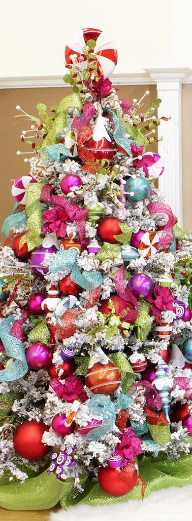 14 colorful christmas tree - photo #19