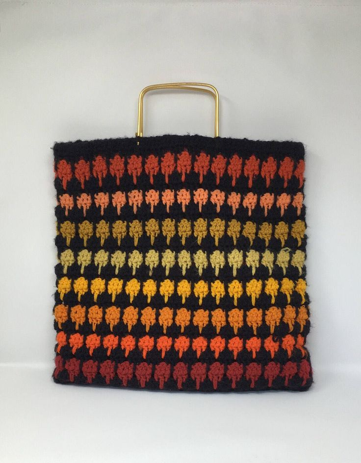 Excited to share the latest addition to my #etsy shop: Vintage Rainbow Market Bag 70s Spanish Handbag Wool Produce Bag Poliethiline Lined Bag Multi Colored Bag Made in Spain #bagsandpurses #vintagemarketbag #vintagehandbag #vintagespanishbag #shootthepigeons #vintageproducebag