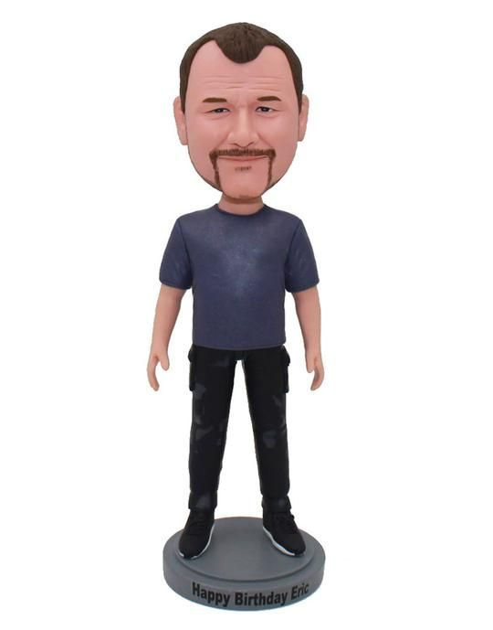 Custom Bobbleheads Made From Your Photos $54.9 - $149, We Can Create Any Style Bobblehead and Figurine, Personali… in 2020 | Bobble head, Personalised gifts for him, Custom