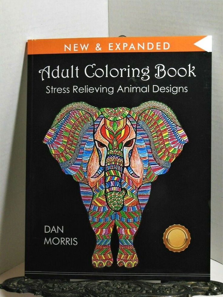 Details about ADULT COLORING BOOK Stress Relieving 50