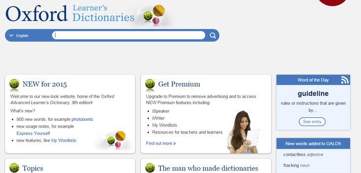 你是不是都用 Yahoo 字典查單字呢? 而且還把它設為書籤? 不是說不能用它, 只是如果要精準抓到英文單字的意思, 查英英字典絕對無誤! 立即把以下線上字典也加入書籤列吧! 1. Cambridg[...]