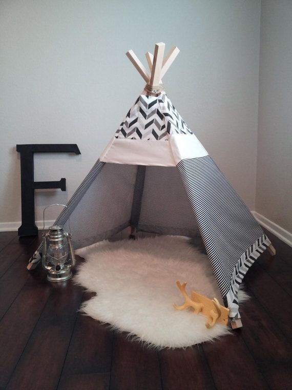 When the west was fun THE REAGAN toddler teepee. by littlebraves, $75.00