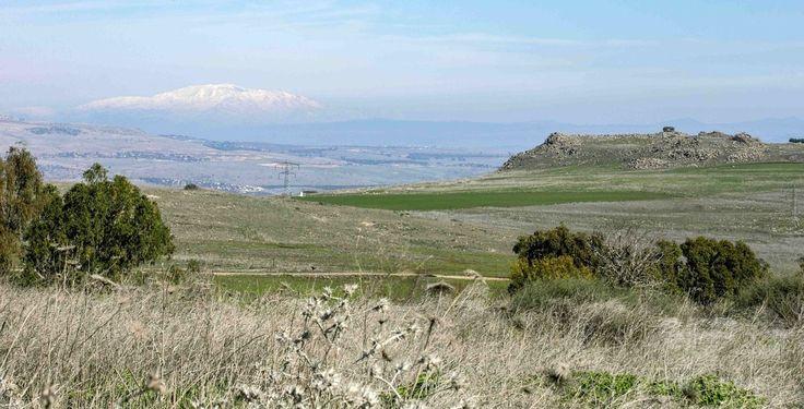 イスラエル・ガリラヤ地方の風景(2016年1月28日撮影、資料写真Files)。(c)AFP/JACK GUEZ ▼6Mar2017AFP|青銅器時代の「謎めいた」巨石建造物、イスラエルで発見 http://www.afpbb.com/articles/-/3120247 #Galilee #הגליל #加利利 #الجليل