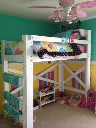 52 Best Loft Bed Ideas Images On Pinterest Child Room