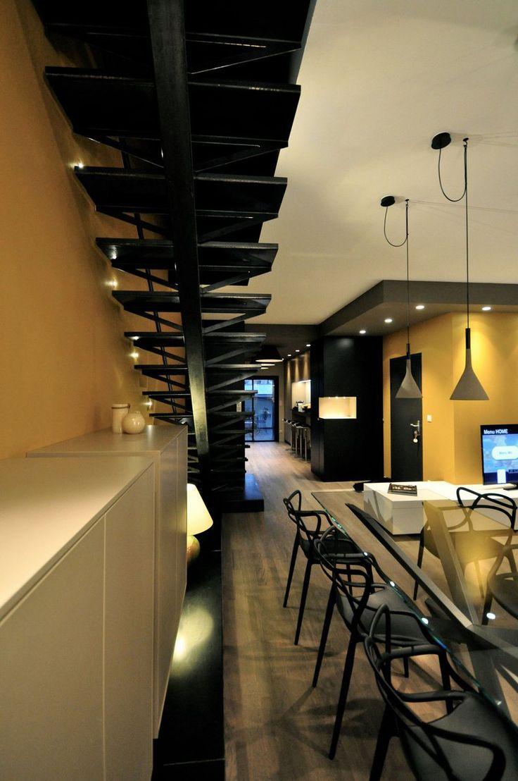 Πολυτελές διαμέρισμα με μίνιμαλ διακόσμηση στη Νανσύ της Γαλλίας...