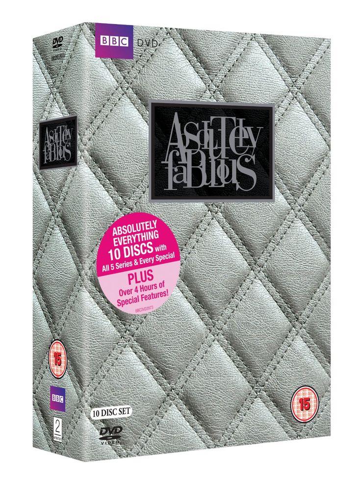 Absolutely Fabulous - Absolutely Everything Box Set DVD 1992: Amazon.co.uk: Jennifer Saunders, Joanna Lumley: DVD & Blu-ray