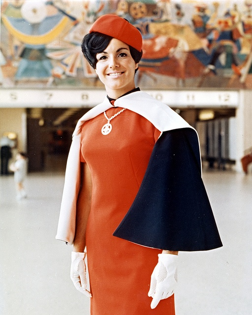 @KatieSheaDesign ♡❤ ❥ #1960s #FlightAttendant #Uniform