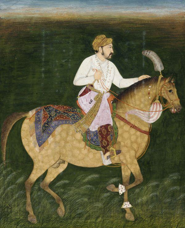 Jahangir equestrian portrait