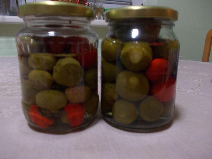 Feferonky v sladkokyslom náleve