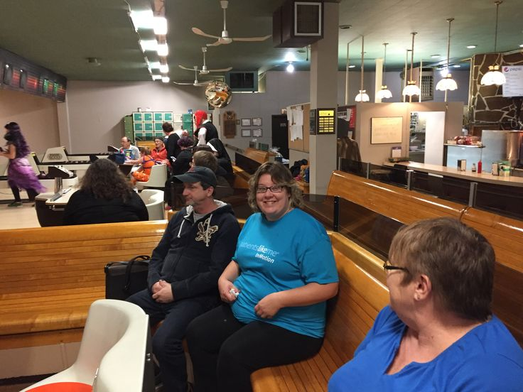 Thank you for supporting PatientsLikeMe inMotion at your bowling fundraiser!