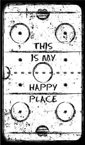 j'aime les patinoires parce qu'ils sont mon endroit heureux et je sens comme personne peut me toucher.