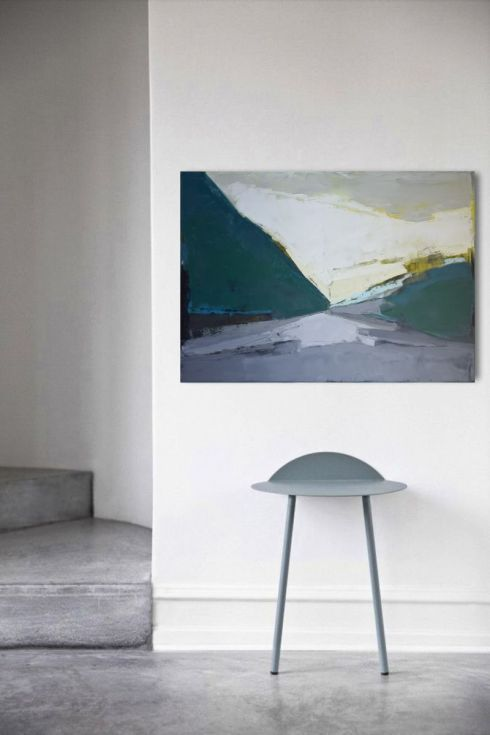 """Buy Oil painting, canvas art, stretched, """" Mountain 90"""". Size 39,4/ 27,6 inches (100/70cm), Oil painting by Karina Antończak on Artfinder. Discover thousands of other original paintings, prints, sculptures and photography from independent artists."""