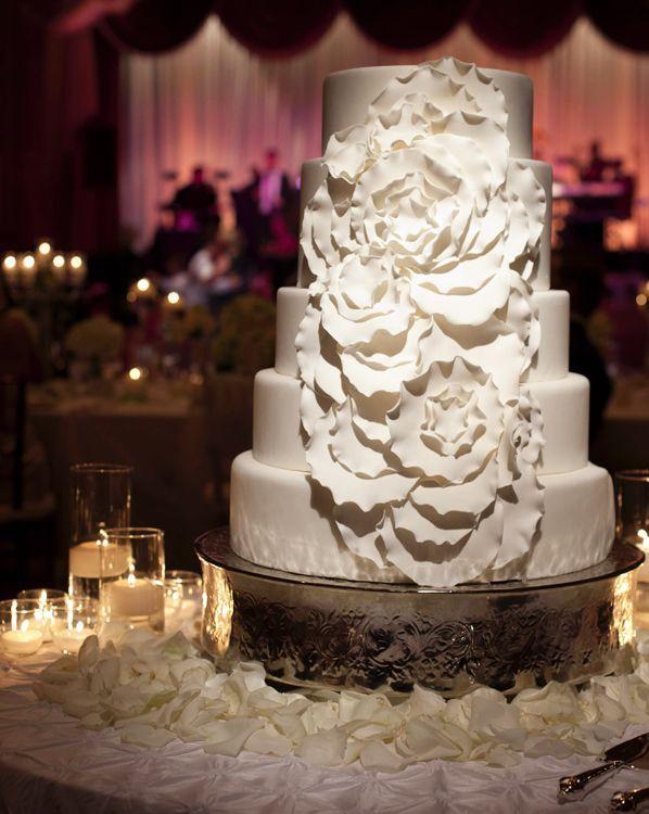wedding cake idea; lunaphoto;