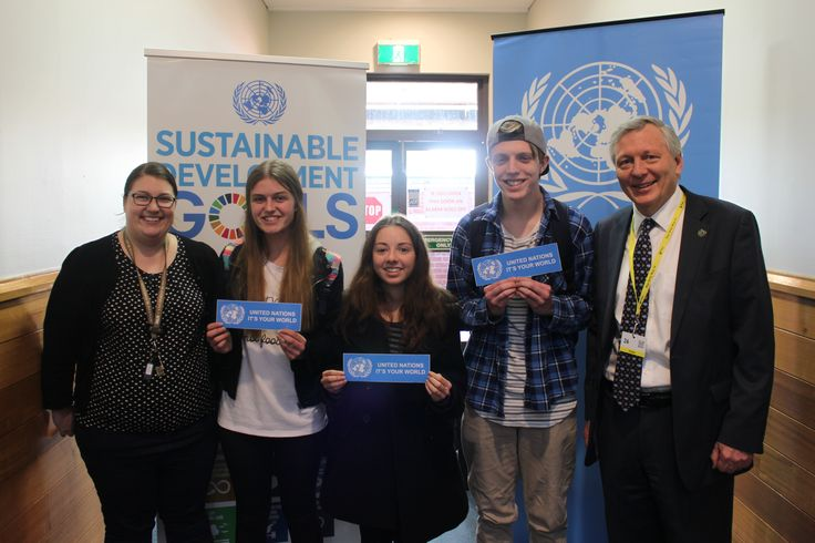 UNIC Canberra spoke with students from  Tuggeranong High School about the Sustainable Development Goals.