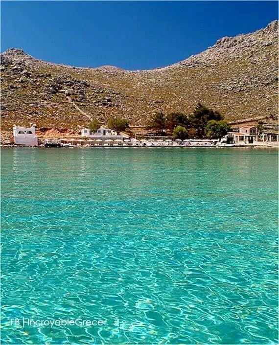 Aghia Marina, Symi island! Turquoise....