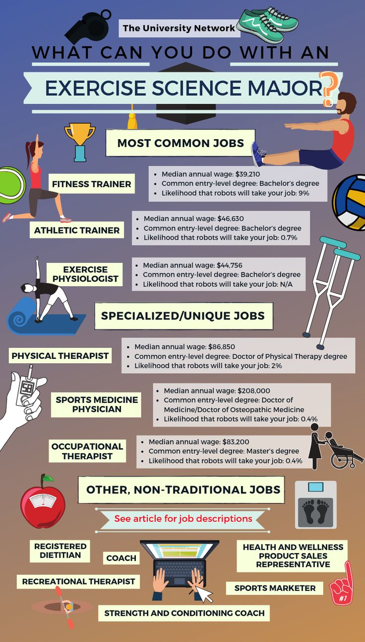 12 Jobs For Exercise Science Majors The University