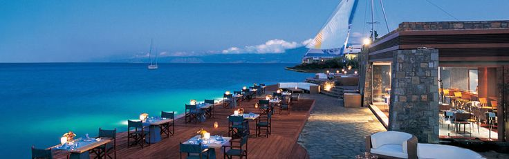 Dining at Elounda Bay Palace Hotel: #restaurants #elounda, #lounges #crete, #cretan #cuisine