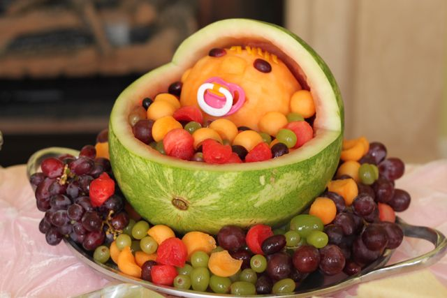 Baby Cradle Fruit Bowl