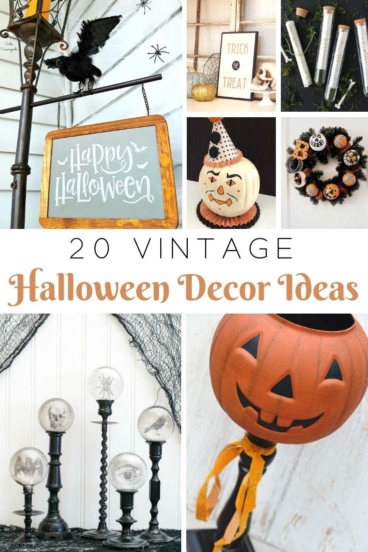 20 Repurposed Diy Vintage Halloween Project Ideas Vintage