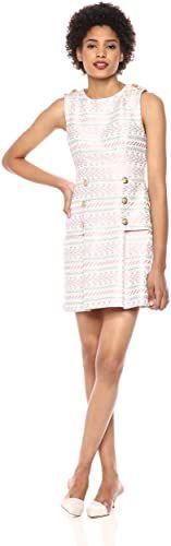 New Laundry Shelli Segal Women's Geometric Print Dress online shopping