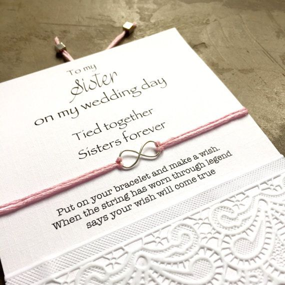 Wedding Gift For Sister Of The Bride : ... sister of the bride gift, sister, wedding gift for sister, jewelry