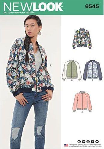 Bomber Jacket Sewing Patterns Inset Or Raglan Sleeves Clothings Extraordinary Bomber Jacket Sewing Pattern