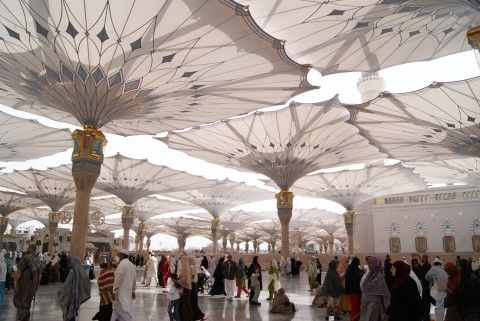 Masjid Nabawi - Heaven on earth. Read a three part article on www.modestmuse.co.za