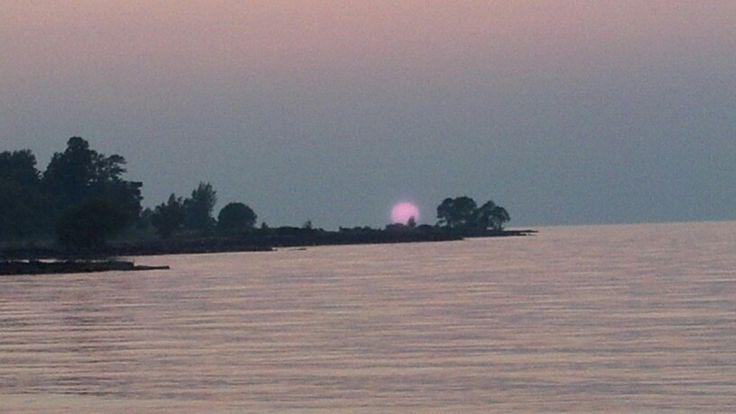 Sunset at Hamlin Beach State Park NY