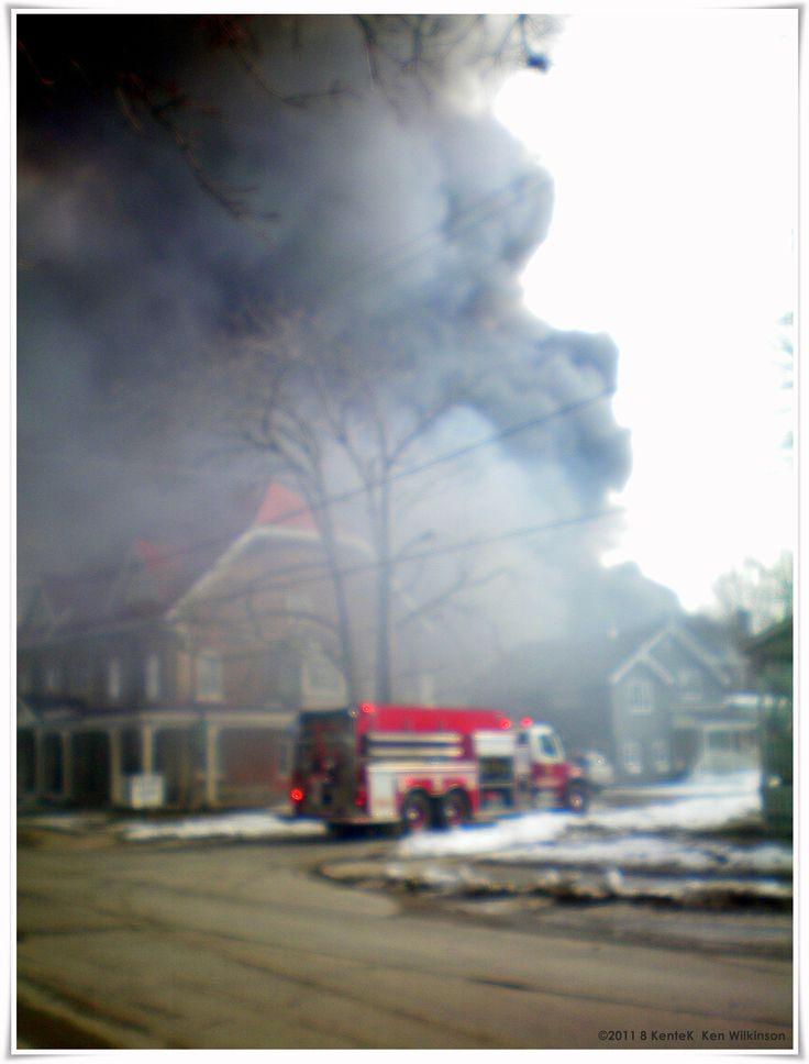 Listowel Ontario Dollar Store Fire.