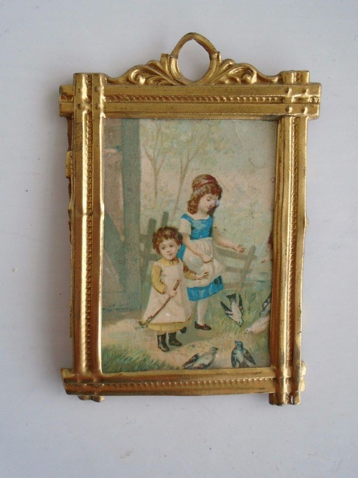 Antique Picture by Erhard & Söhne | eBay