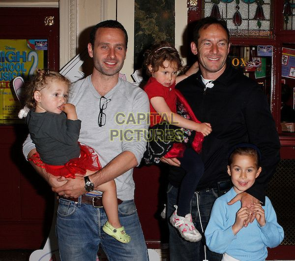 Andrew Lincoln Wife And Kids Www Imgkid Com The Image