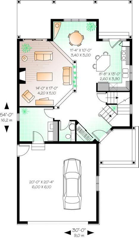 Tampak Depan        Skesa Tampak Belakang        Denah Rumah    Lantai Dasar          Lantai Atas       Detail Rancangan Rumah   Lantai :...