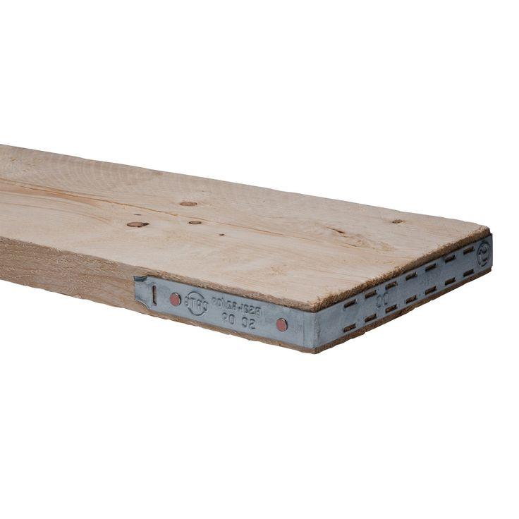 Scaffold Board Sawn Unfinished (T)38mm (W)225mm (L)2400mm | Departments | DIY at B&Q