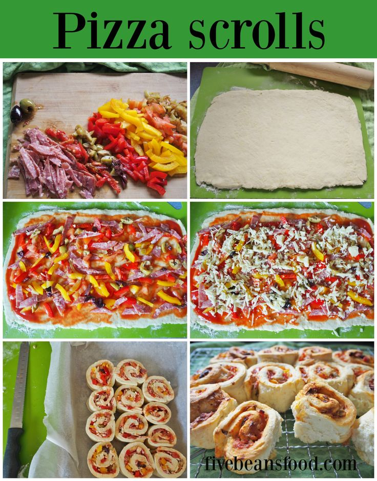 These simple and tasty pizza scrolls are great for the kids of all ages, plus the kids can help or make the scrolls themselves