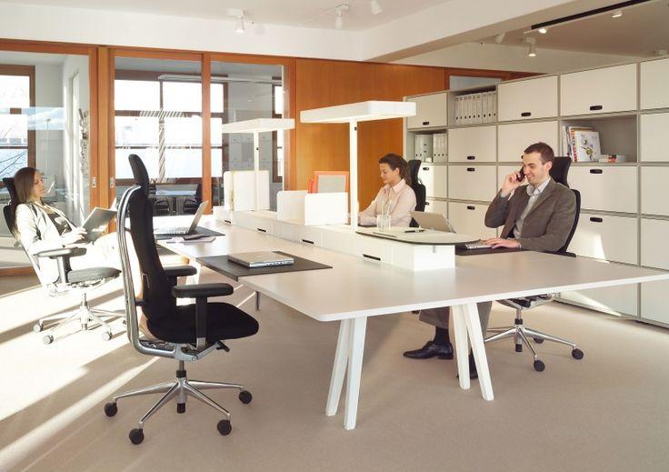 Joyn desking by vitra project bench pinterest for Office design vitra