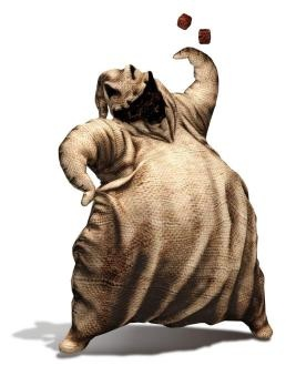 """Oogie Boogie-""""the sadistic,abusive and voraciously hungry Boogie Man"""" he is my fave and his song is the neatest!!!!!"""