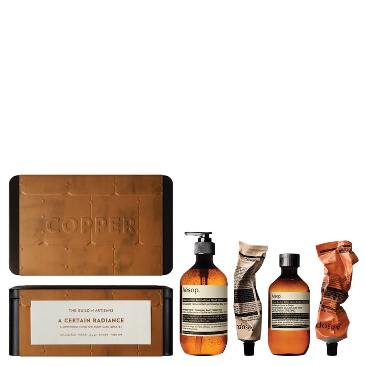 A Certain Radiance gift kit tom Aesop will have you in the recipients good books for months. These products are the best.  #aesop #skincare www.kingdom-london.com