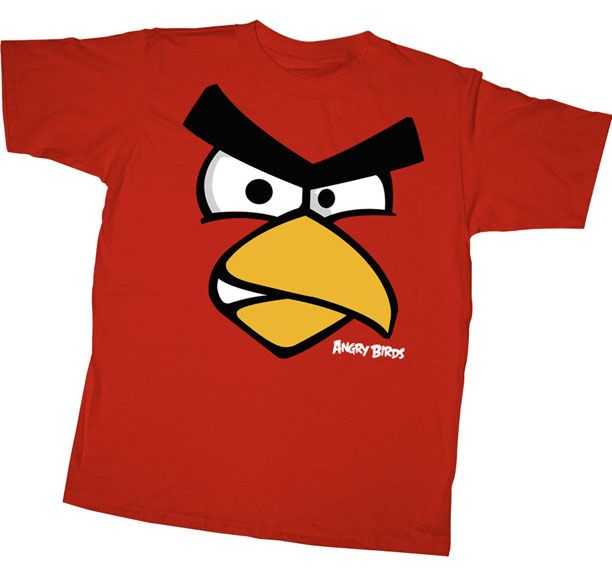 Angry Birds Red Face Youth T-shirt $17.95 #tvstoreonlinewishlist