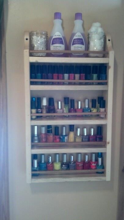 Best 25+ Nail polish holder ideas only on Pinterest | Nail polish ...
