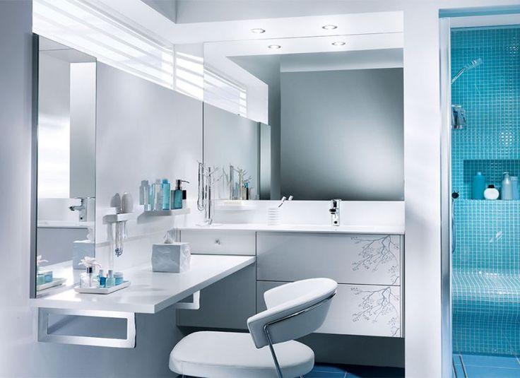 Salle de bain Kendo blanc brillant         Ibiza                 Galante                 Bornéo                 Loa