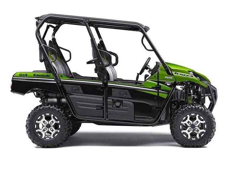 New 2016 Kawasaki Teryx4 LE ATVs For Sale in Florida. 2016 Kawasaki Teryx4 LE, 2016 KAWASAKI TERYX4™ LETHE KAWASAKI DIFFERENCEKAWASAKI STRONGEager for action and ready to hit the trails, the Kawasaki Teryx4™ side x side is built with the backing of over a century of Kawasaki Heavy Industries, LTD. knowledge and engineering. With the perfect combination of rugged sport performance and useful capability, the Teryx4 is up for any challenge.Features may include:Redesigned front end with…
